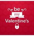 Valentines day typography vector