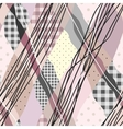 Pink patches vector