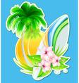 Summer insignia vector