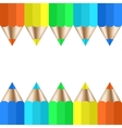 Modern pencil background vector