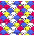 Cute cartoon pattern eps8 vector