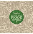 Retro wood seamless background vector