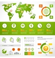 Energy infographics layout template vector