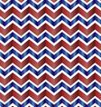 Chevron zig zag red white and blue vector