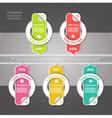 Modern timeline design template eps 10 vector