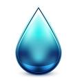 Hi-tech water drop icon vector