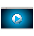 Web video player vector