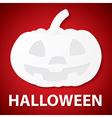 Pumpkin halloween paper vector