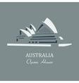 Opera house sydney vector