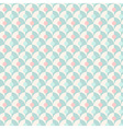 Seamless simple retro geometrical pattern of vector