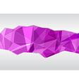 Geometric background template - for folder vector