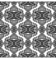 Black and white abstract seamless vector