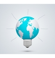 Modern concept idea and world vector