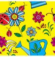 Summer floral print pattern vector