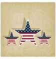 Independence day old background vector