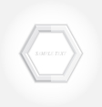 3d abstract background and hexagon icon design vector