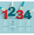Number options template vector