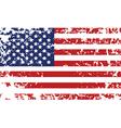 Grunge flag of united states vector
