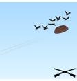 Trap shooting-6 vector