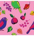 Parrot pattern vector