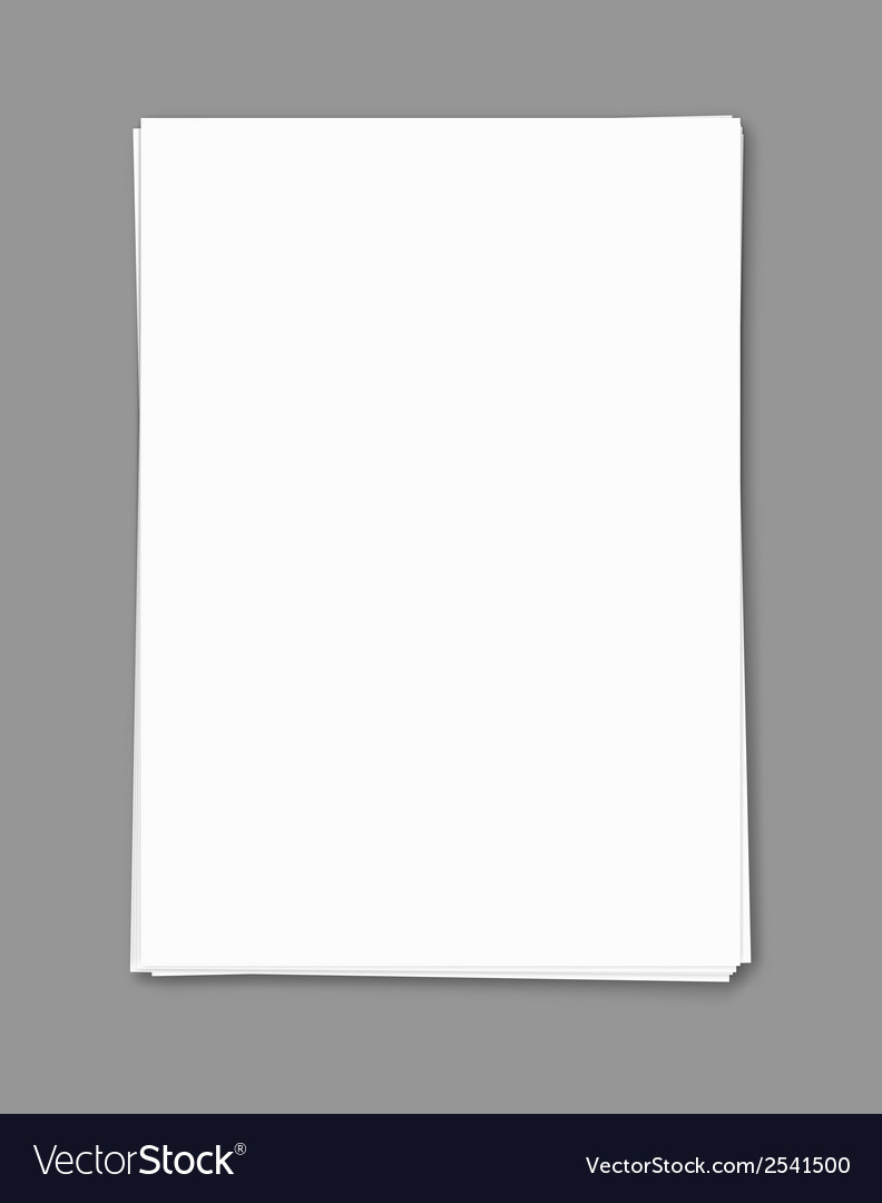 Empty blank template vector | Price: 1 Credit (USD $1)