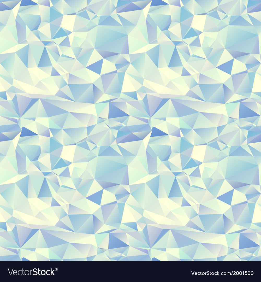 Ice seamless pattern crystal background vector | Price: 1 Credit (USD $1)