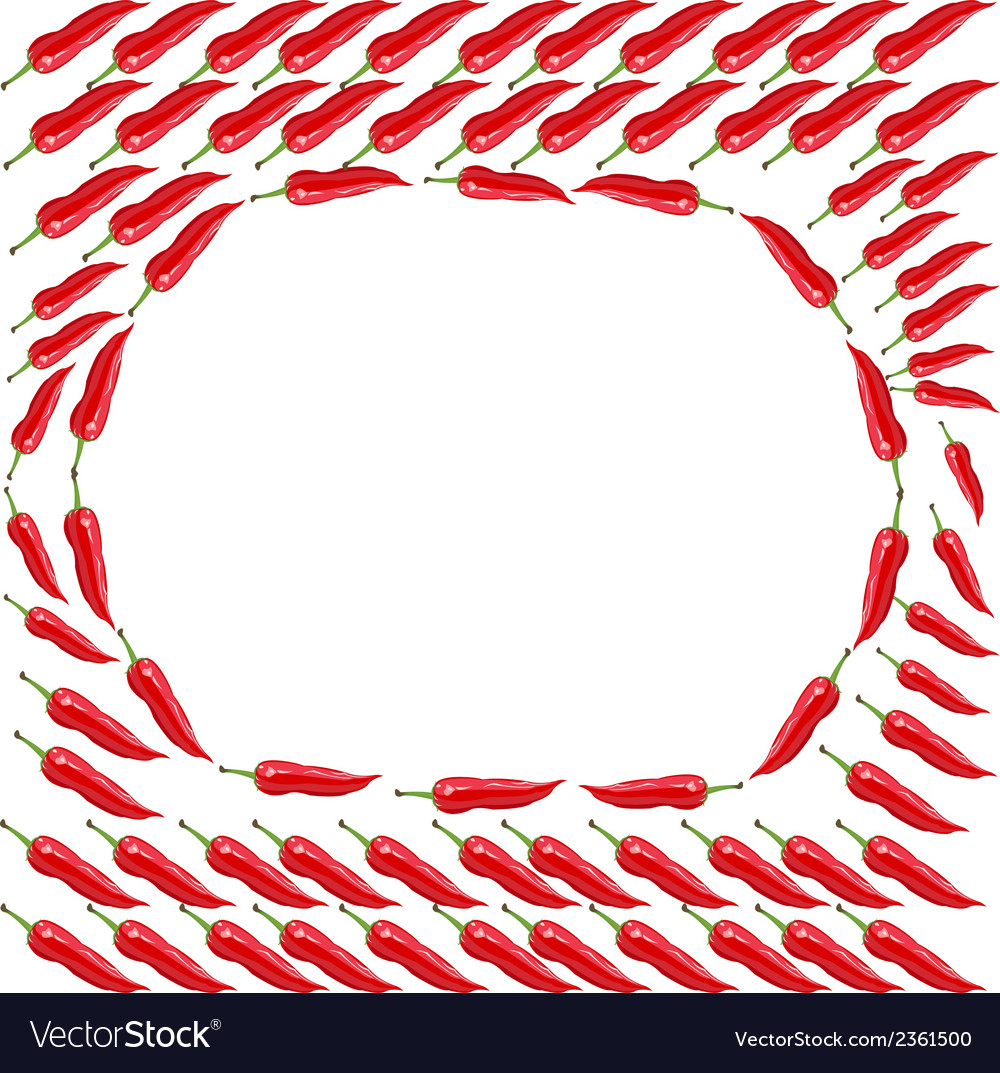 Red chili peppers - vector | Price: 1 Credit (USD $1)