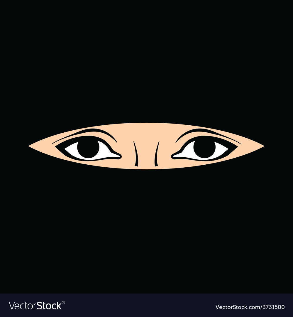 Womans eyes vector | Price: 1 Credit (USD $1)