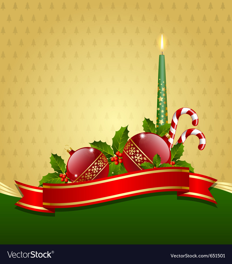 Stylized christmas decoration vector | Price: 1 Credit (USD $1)