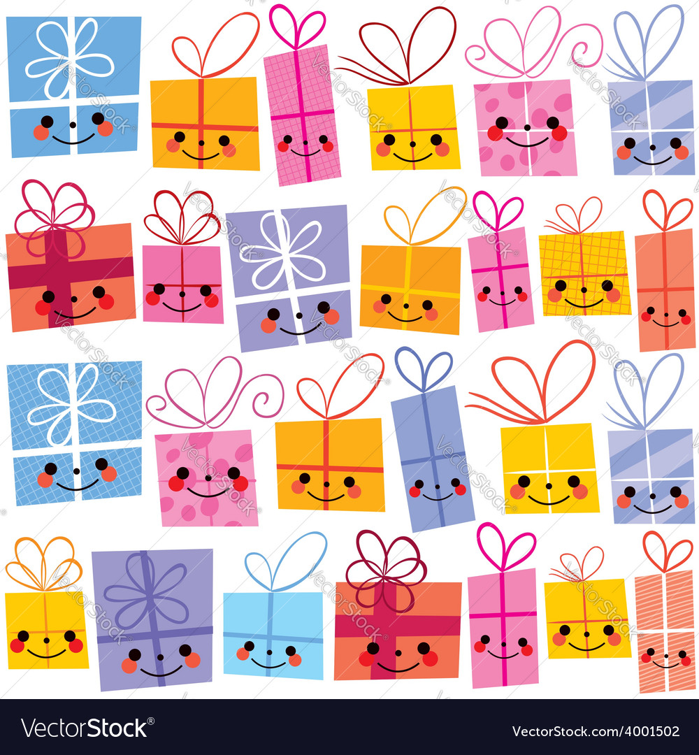 Gifts present boxes vector | Price: 1 Credit (USD $1)