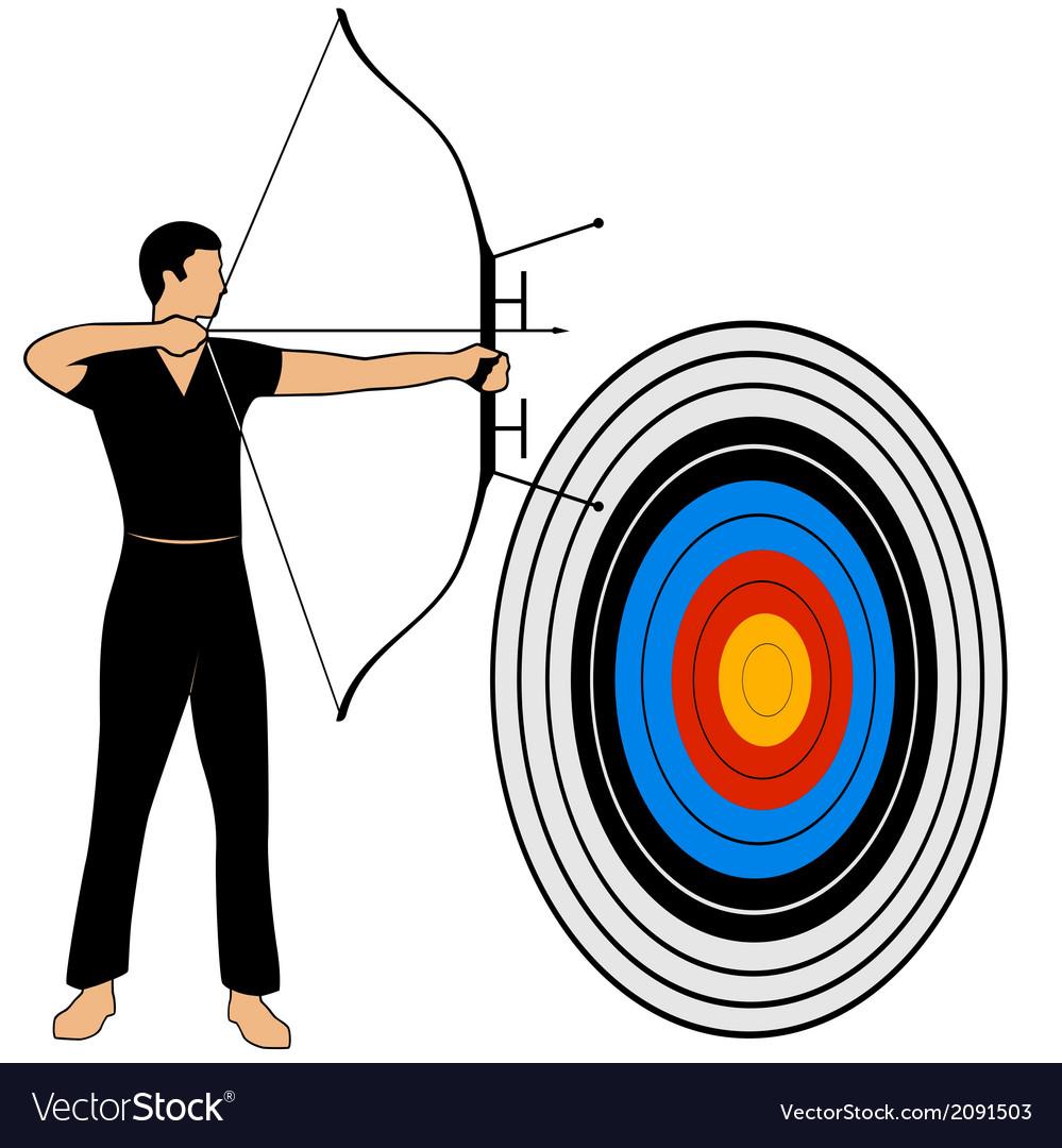 Archery vector | Price: 1 Credit (USD $1)
