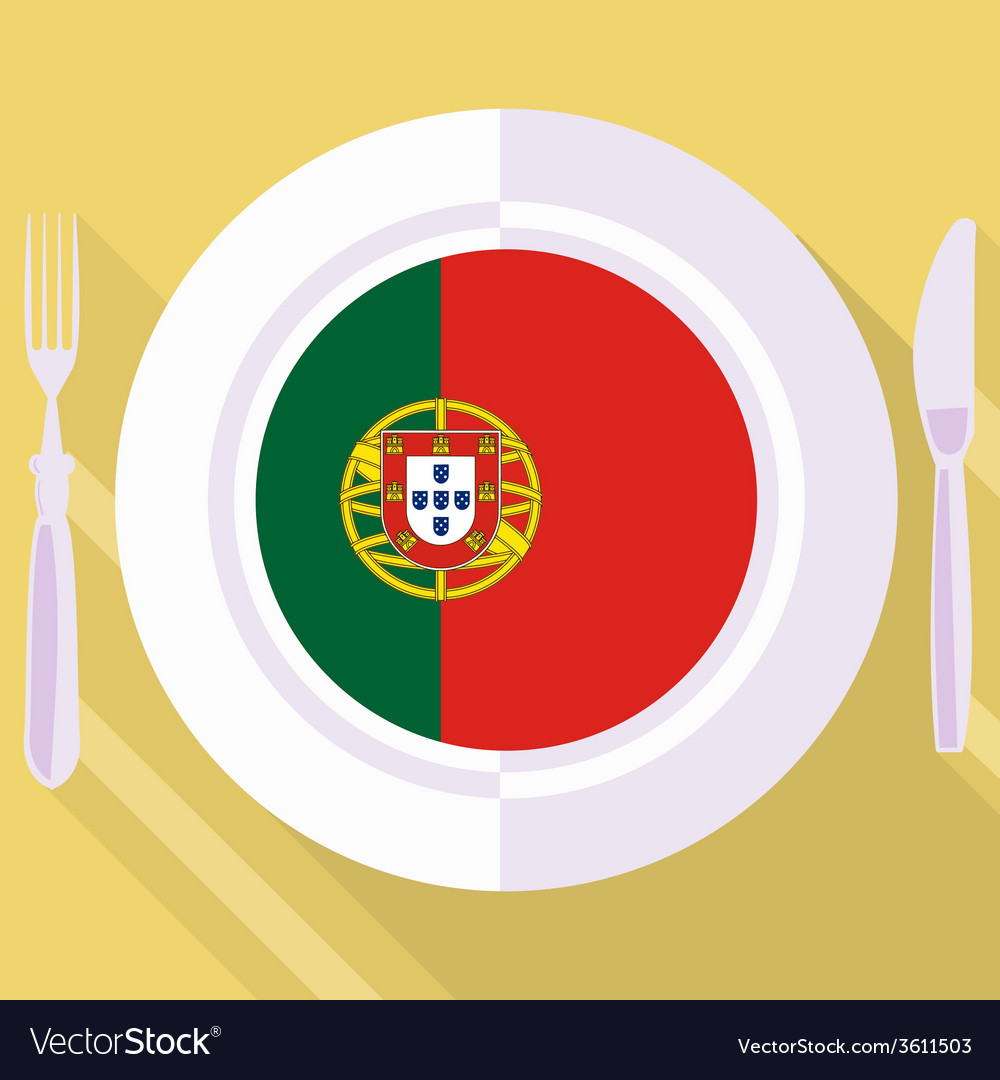 Kitchen of portugal vector | Price: 1 Credit (USD $1)