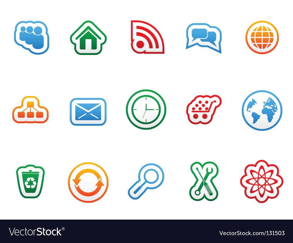 Label icons vector | Price: 1 Credit (USD $1)