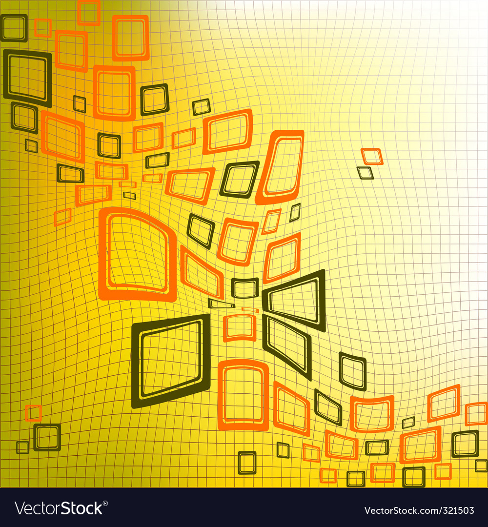 Squares abstract background vector | Price: 1 Credit (USD $1)