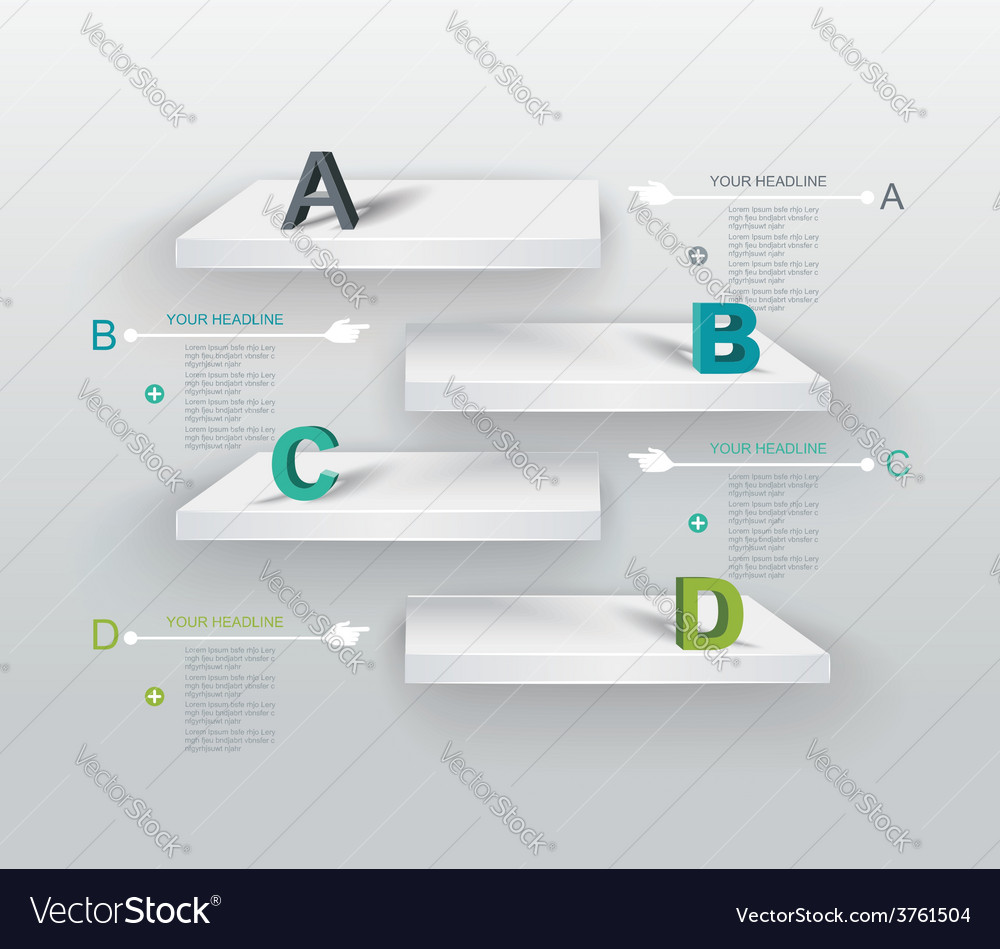 3d shelves boxes vector   Price: 1 Credit (USD $1)