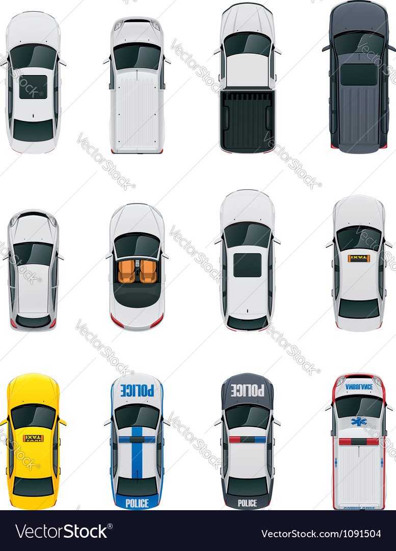 Cars set vector