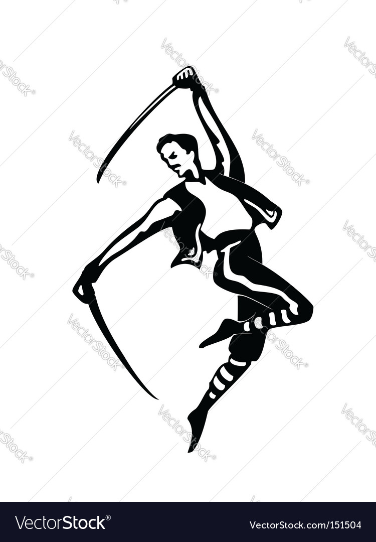 Sabre dance vector | Price: 1 Credit (USD $1)