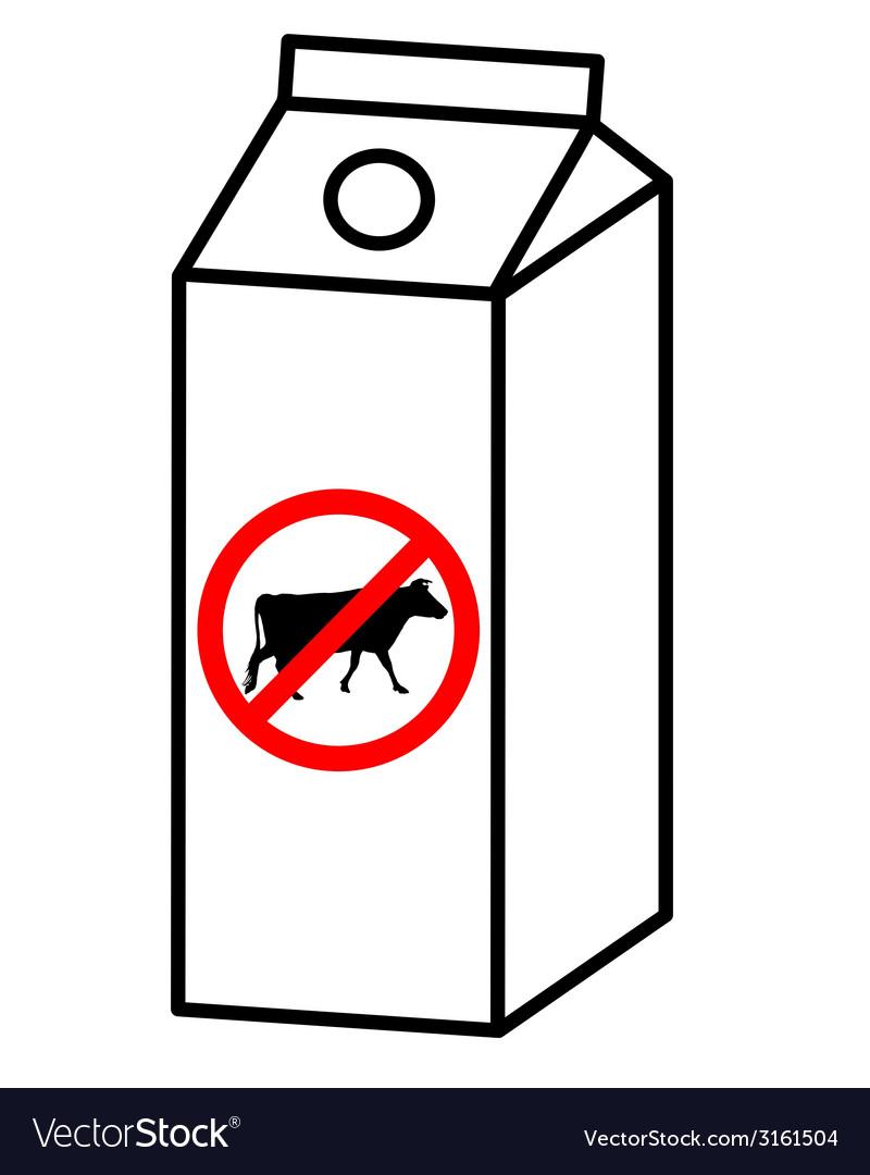 Sugar free milk vector | Price: 1 Credit (USD $1)