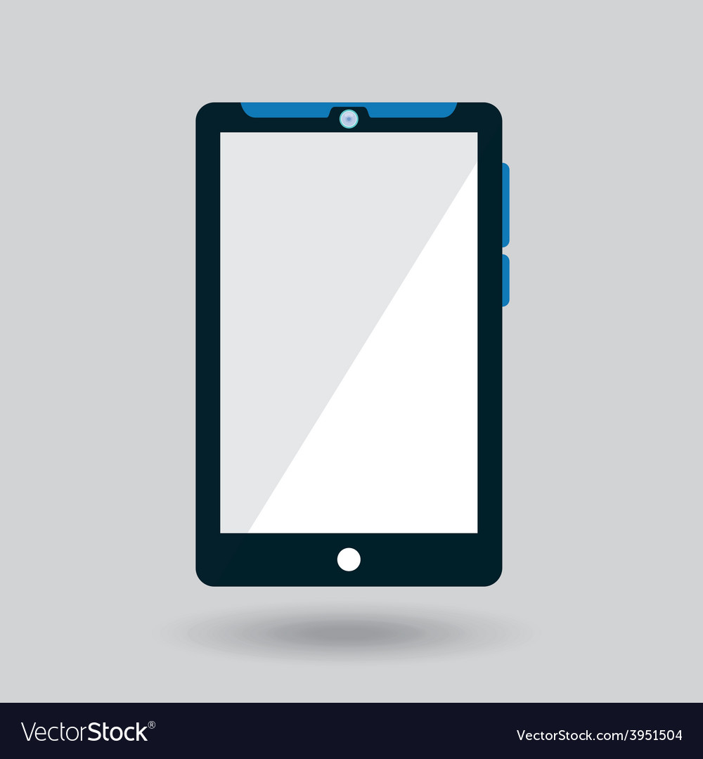 Tablet icon vector | Price: 1 Credit (USD $1)