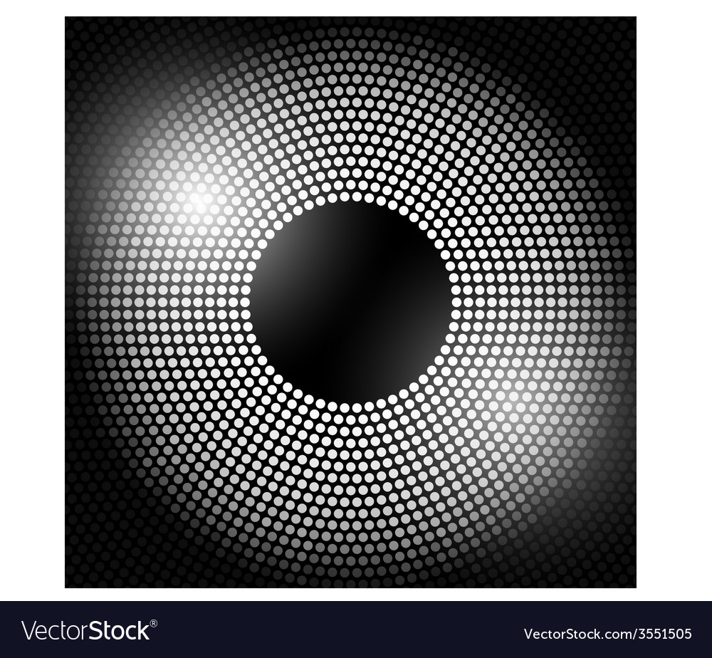 Abstract disco background with halftone vector   Price: 1 Credit (USD $1)