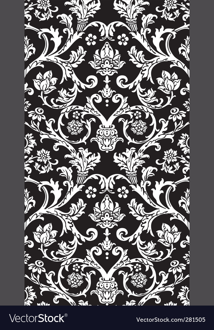 Damask royal pattern vector | Price: 1 Credit (USD $1)