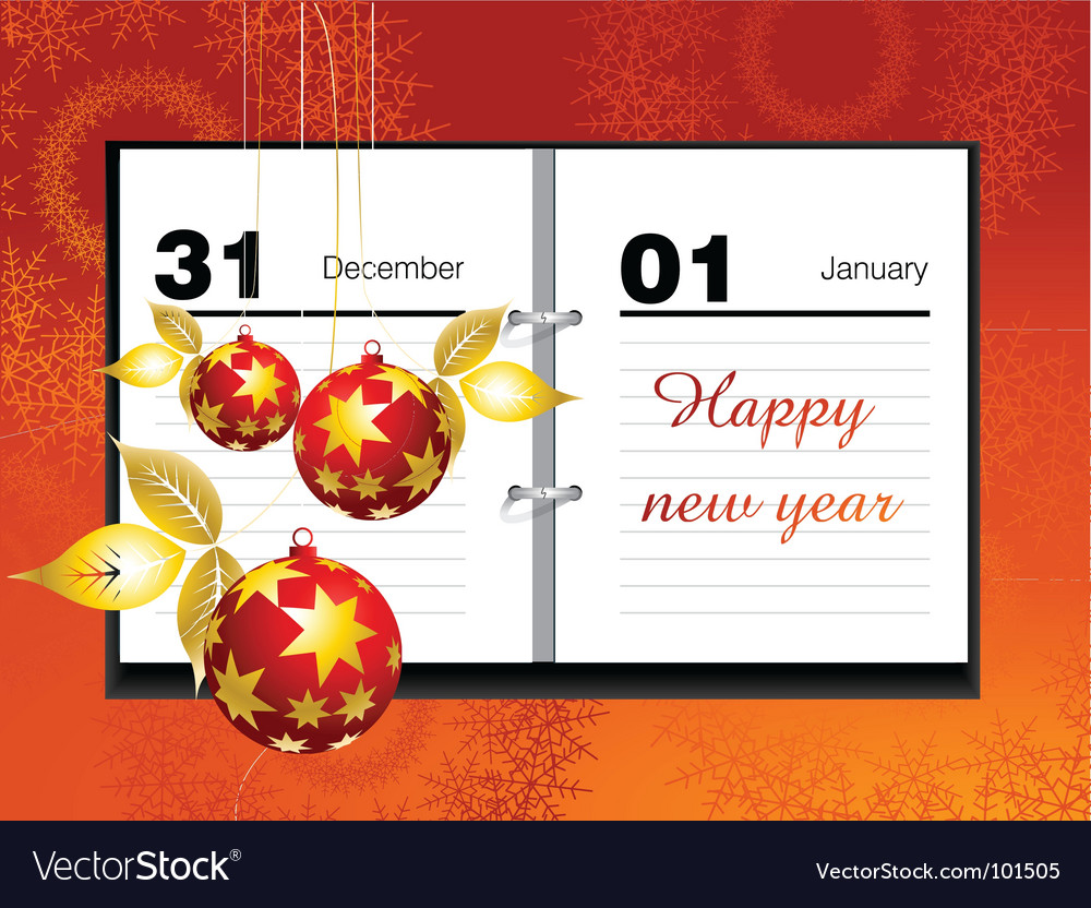 Important dates vector | Price: 1 Credit (USD $1)