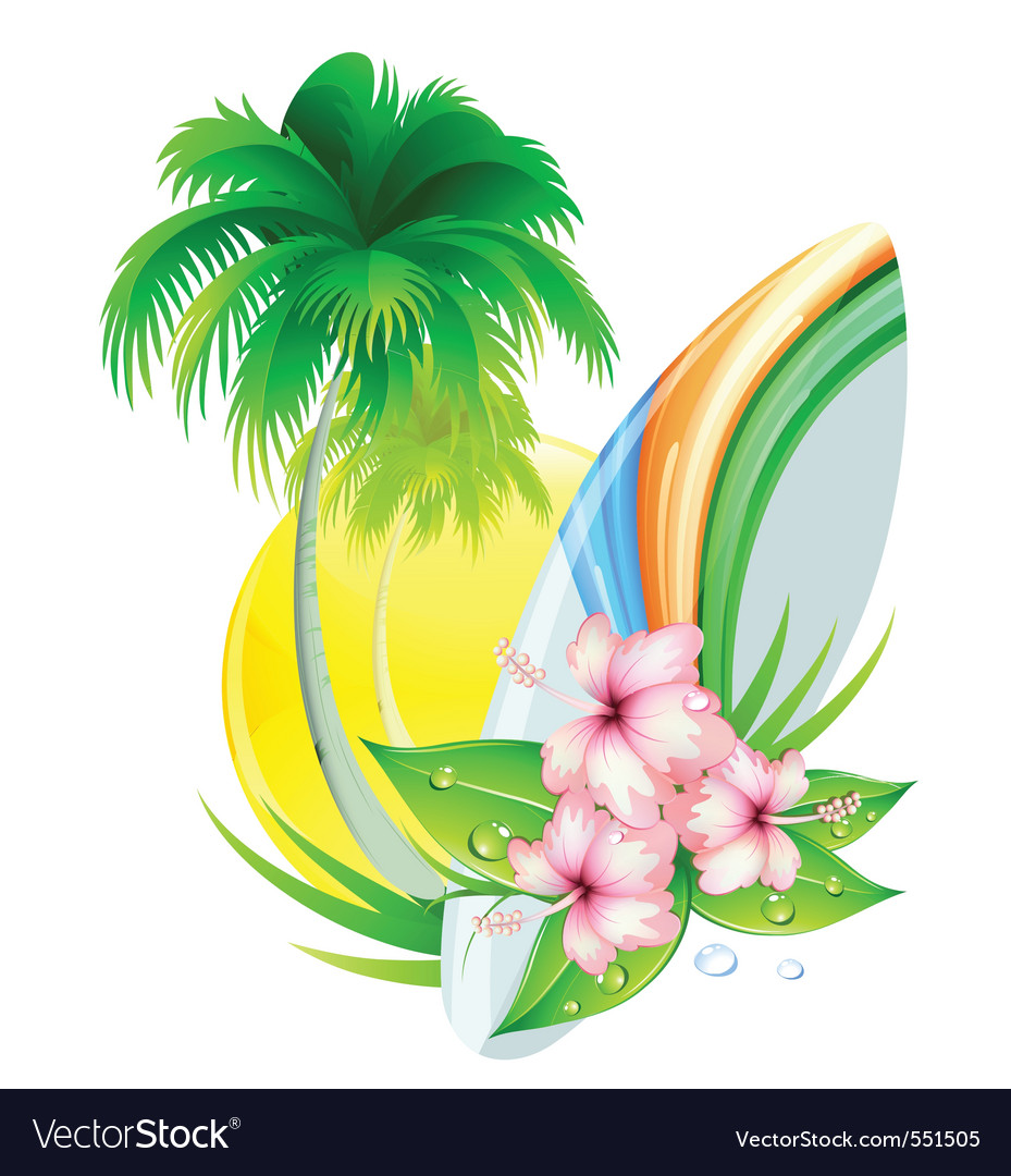 Summer insignia vector | Price: 3 Credit (USD $3)