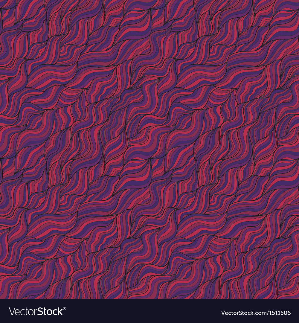 Abstract wavy seamless patten with colorful vector | Price: 1 Credit (USD $1)