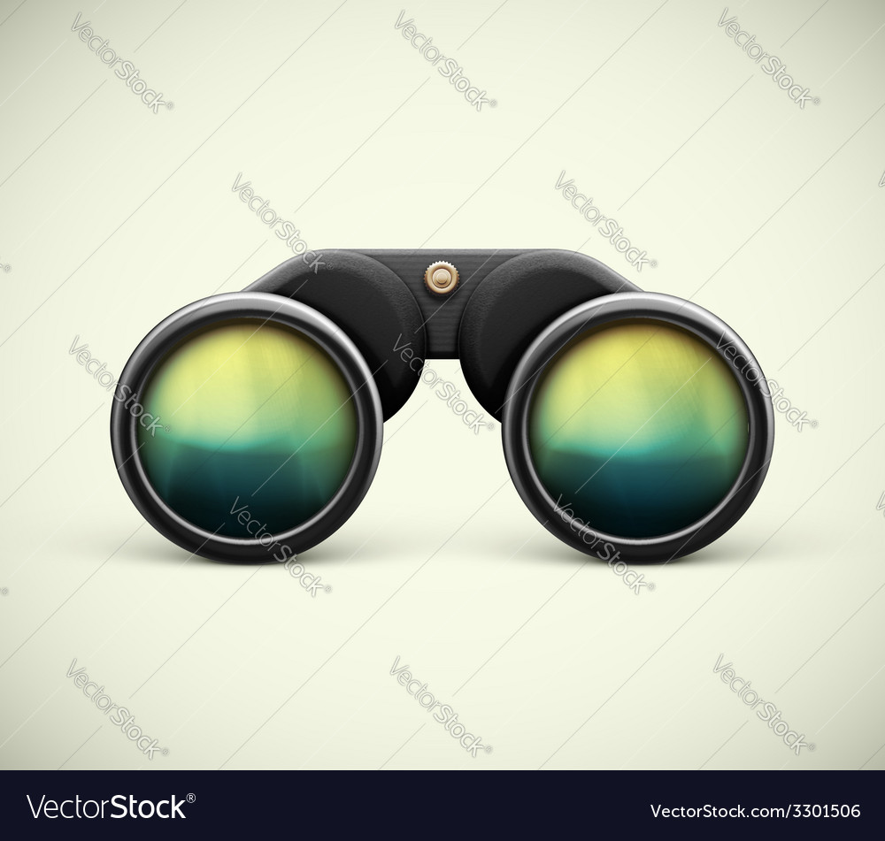 Isolated binoculars vector | Price: 1 Credit (USD $1)