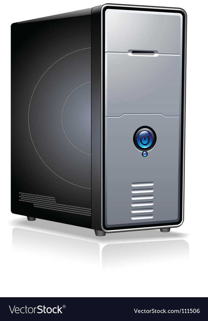 Pc case vector | Price: 1 Credit (USD $1)