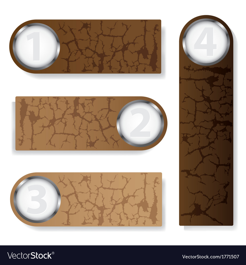 Brown text box vector | Price: 1 Credit (USD $1)