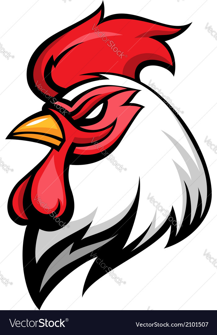 Cock emblem vector | Price: 1 Credit (USD $1)