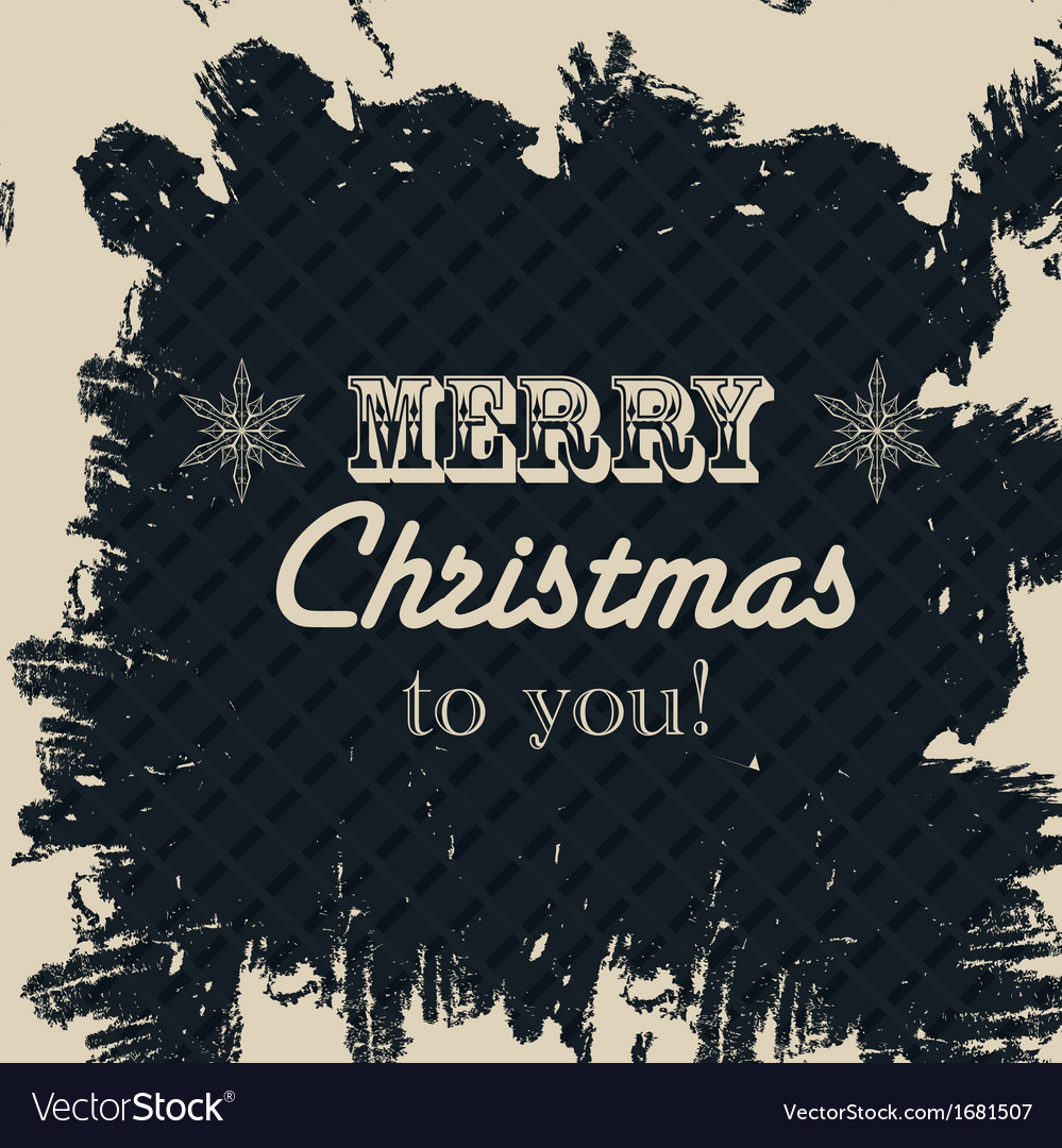 Merry christmas text celebration vector | Price: 1 Credit (USD $1)