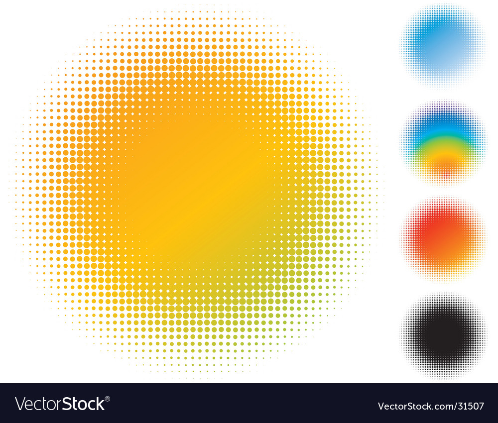 Spotted gradient flash vector | Price: 1 Credit (USD $1)